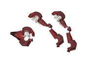 AKS 010, комплект зажимных штекеров