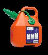 Топливная канистра Husqvarna объемом 6 литров, оранжевого цвета
